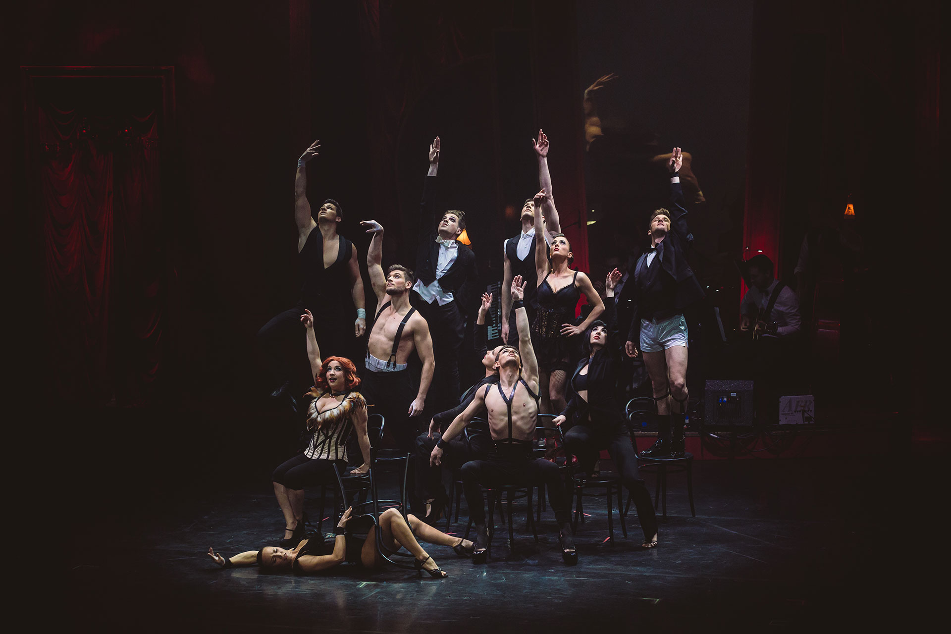 Recirquel returns to Edinburgh with their Fringe 2017 sell out show Paris de Nuit