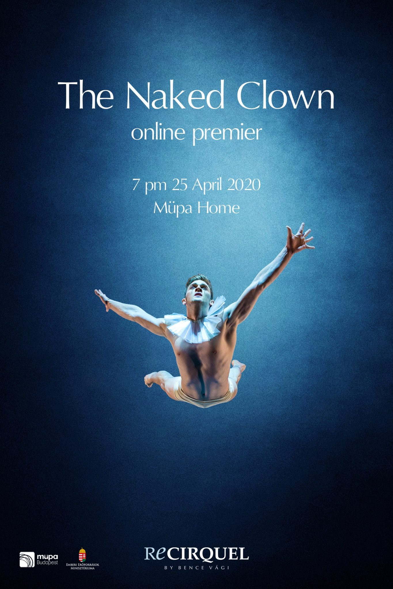 The Naked Clown goes online!