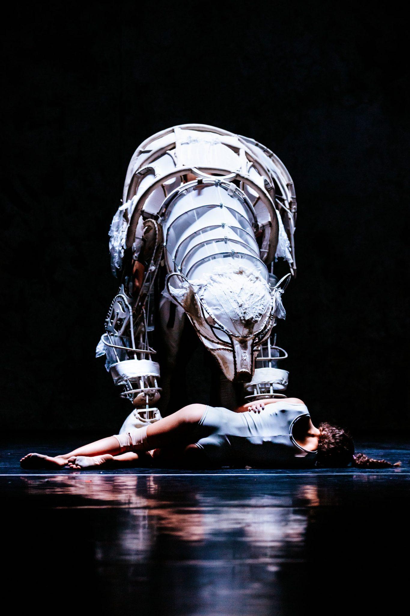 Amazing Polar Bear Puppet in Solus Amor