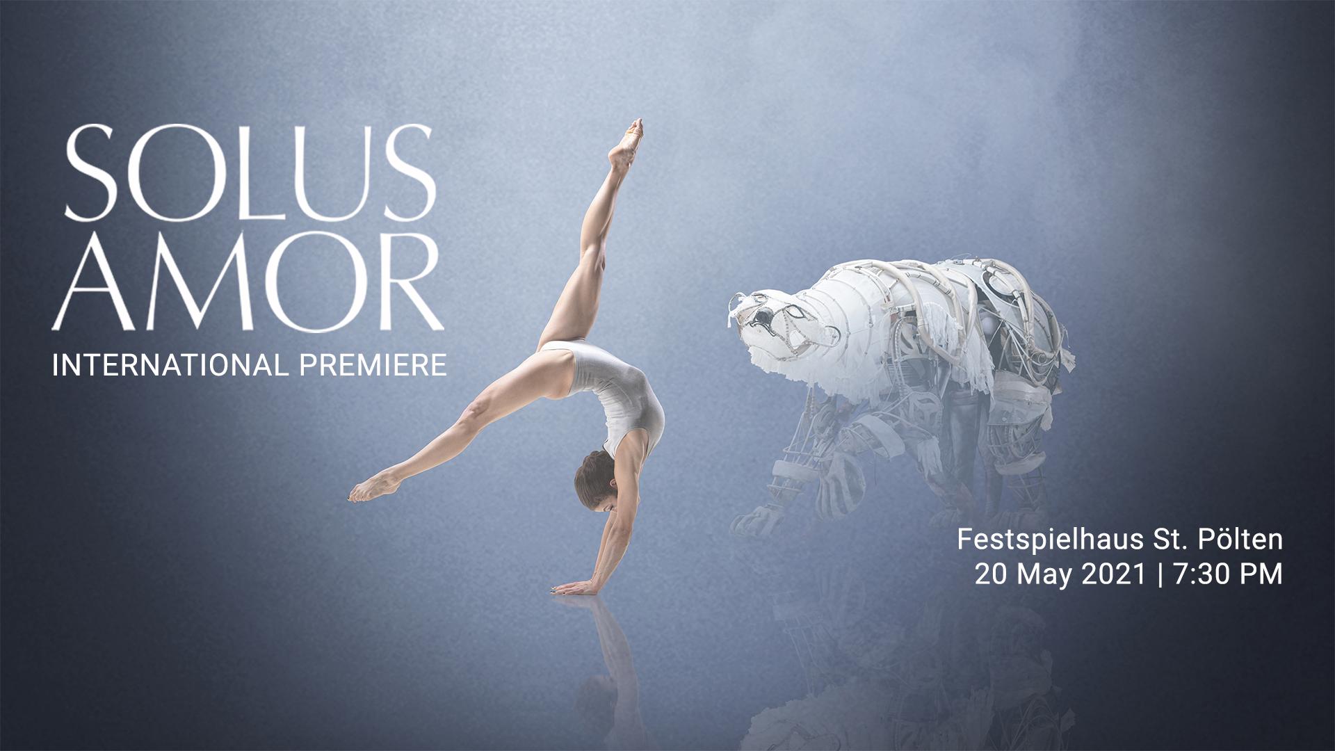 Solus Amor című új produkciónkkal nyit Ausztria kortárs művészeti központja